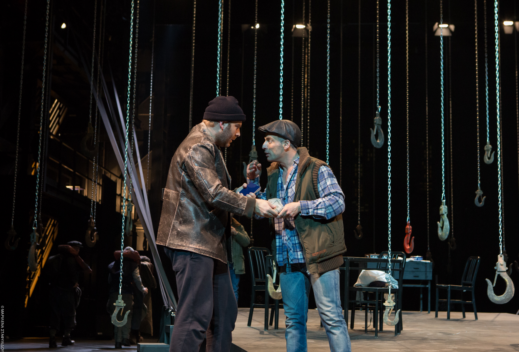 a view from the bridge greek tragedy A view from the bridge joan marcus thom geier  has all the elements of greek tragedy — including a one-man chorus in the form of a local lawyer (a fine michael cristofer) who narrates the.